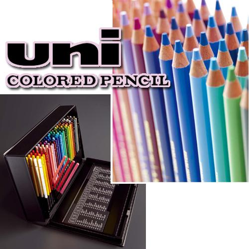 三菱鉛筆 ユニカラー色鉛筆