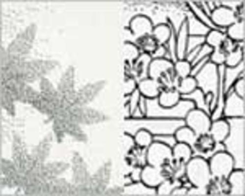 デリーター スクリーン <花柄・植物>
