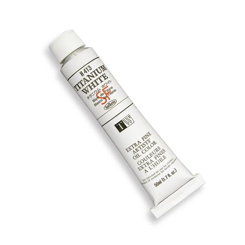 ホルベイン 油絵具(ホワイト)10号(50ml)