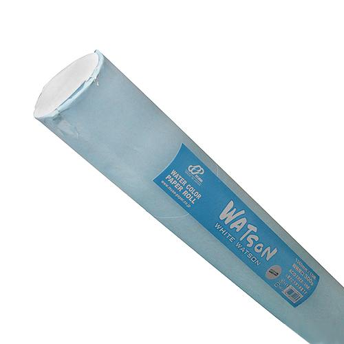 【ロール】ホワイトワトソン水彩紙(超特厚口・300g)1.36x10m巻