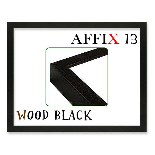 アフィックス13<ウッドブラック>