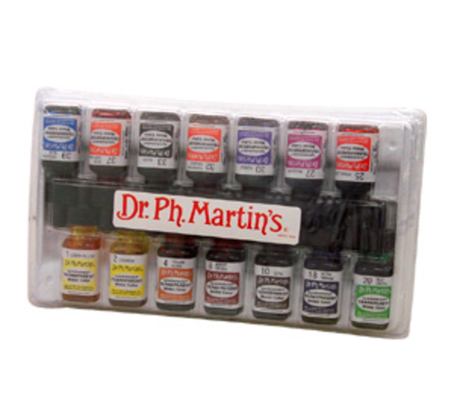 Dr.マーチン シンクロマチックインク14色 アートスチューデントセット