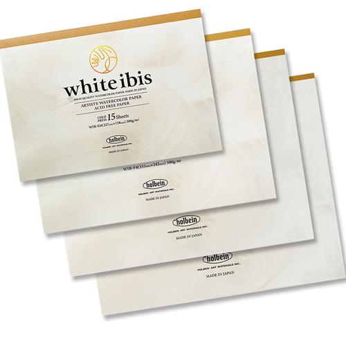 ホルベイン ホワイトアイビス水彩紙 ブロック