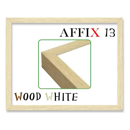 アフィックス13<ウッドホワイト>