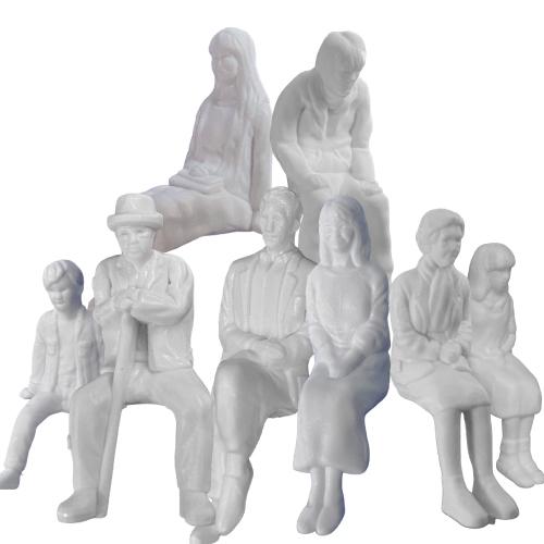 光栄堂 人物模型 座像