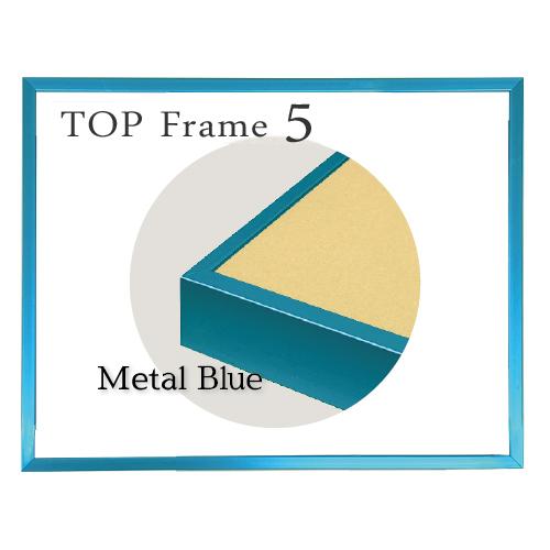 トップフレーム5<メタルブルー>