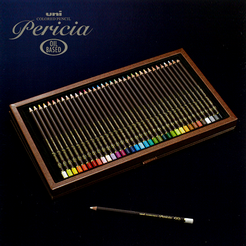 【数量限定】ユニ ペリシア色鉛筆36色セット