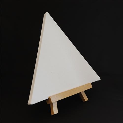 ヴィックアート 三角型張りキャンバス