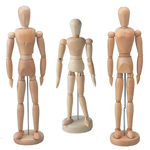 ホルベイン モデル人形