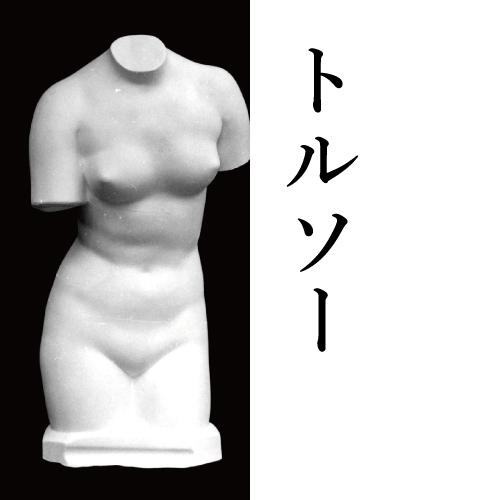 石膏像 トルソー