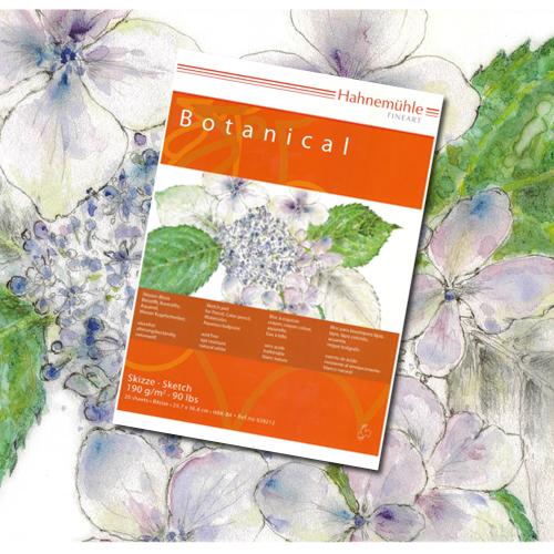 ハーネミューレ ボタニカル水彩紙ブック