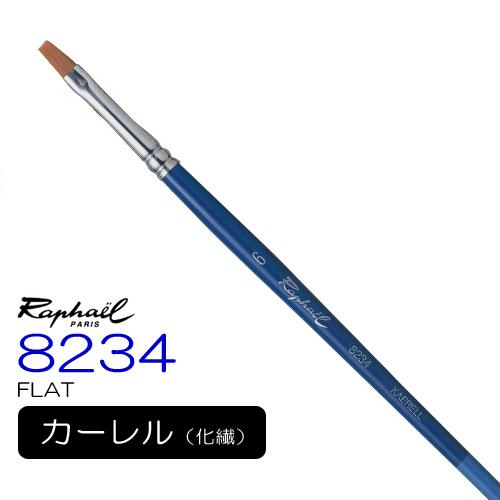 ラファエル 水彩筆 8234(フラット)